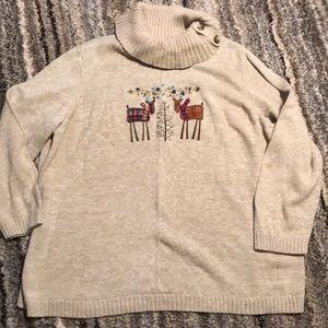 CJ Banks Ugly Christmas Sweater Size 3X